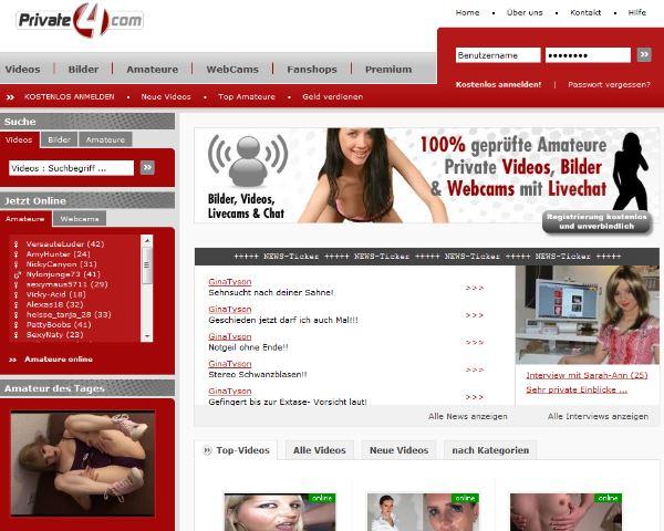 Private4.com Amateurplattform
